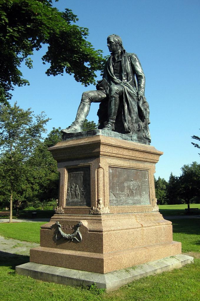 Ny Albany Washington Park Burns Monument The Burns