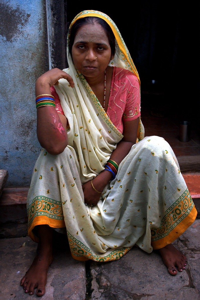 A Lady Of Varanasi
