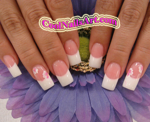 Pink and white nail art coolnailsart is a website flickr pink and white nail art by coolnailsart prinsesfo Choice Image