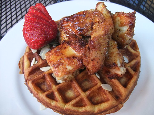 Grandaddie's Chicken and Waffles from Banana Bean Cafe | by swampkitty