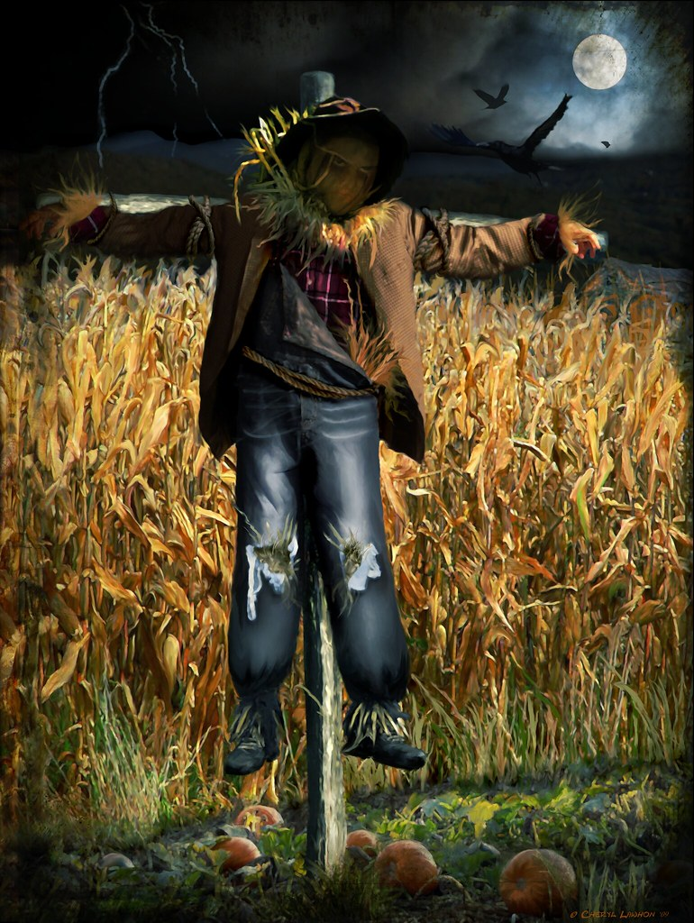 Spooky Halloween Scarecrow   Special Thank You To- www.flick…   Flickr