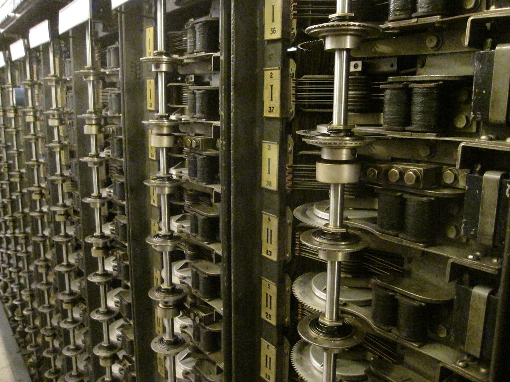 Old Telephone Switching Equipment