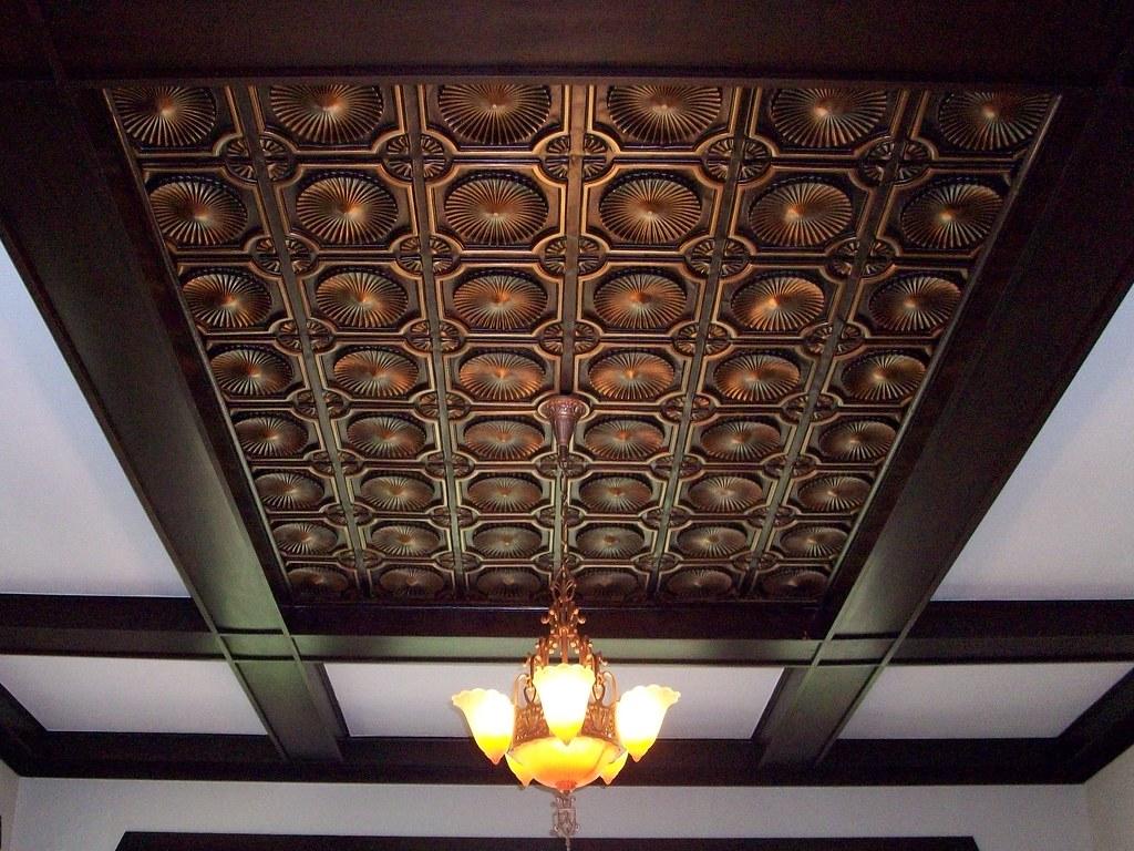 Decor ceiling tiles