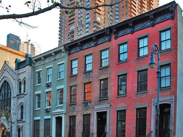 New York Row Houses : Nyc new york city building row houses s bric