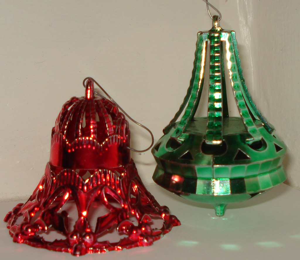 1960's CHRISTMAS ORNAMENTS | Set of 2 1960's ornaments used … | Flickr