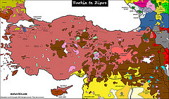 Linguistic Map of Turkey | by MESH :: Middle East Strategy at Harvard