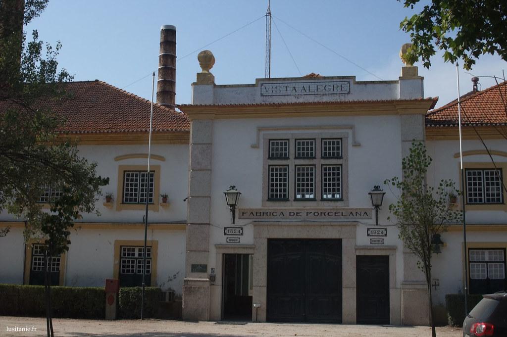 entrée de l'ancienne usine de Vista Alegre, aujourd'hui musée de la porcelaine
