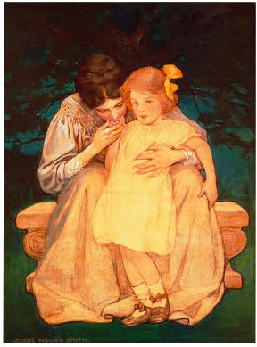 A Mother's Reassurance by Jessie Willcox Smith | by tortuga2010