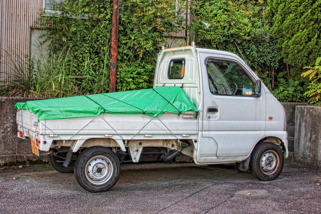small truck a typical truck in japan thought some of you flickr. Black Bedroom Furniture Sets. Home Design Ideas