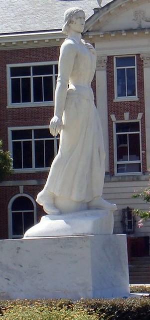Art nude statue woman