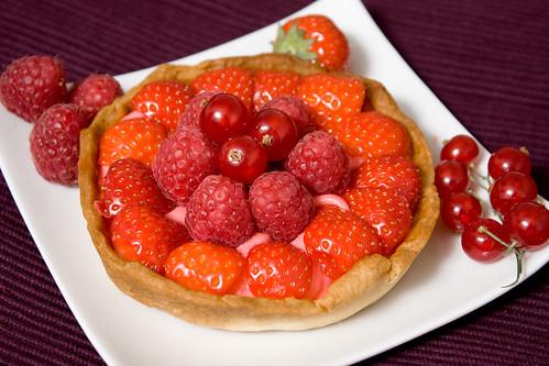 Cake Fruits Rouges Sans Beurre Et Sans Oeuf