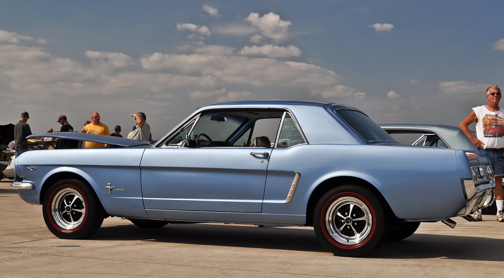 baby blue 1964 or 64 1 2 ford mustang wings wheelz janesv flickr. Black Bedroom Furniture Sets. Home Design Ideas