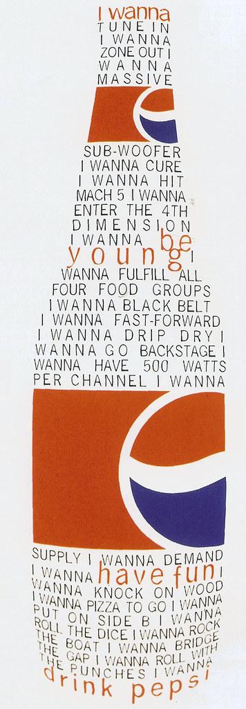 Pepsi Ad By David Carson Daniel Lockett Flickr