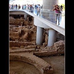 Windy day at the new Acropolis museum | by dranidis