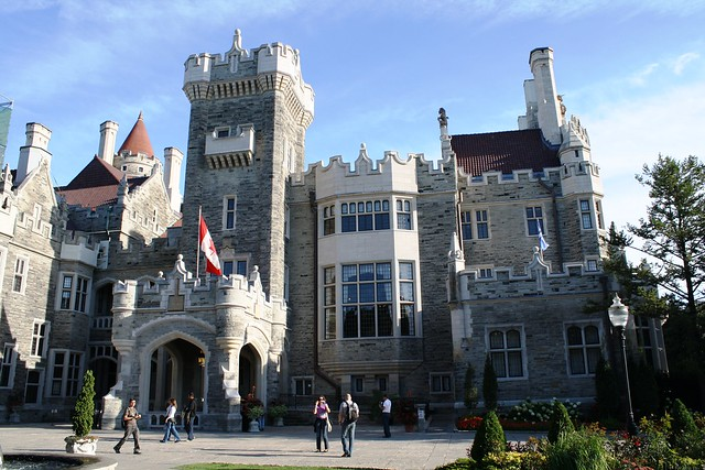 Casa loma castle toronto canada flickr photo sharing for Casa loma mansion toronto