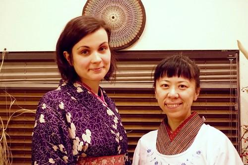 [Japan Cultural Tour] Wearing Kimono