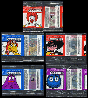 McDonald's McDonaldland Happy Meal size cookie cello packs - 1984 | by JasonLiebig