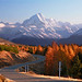 By Sarah: Mt Cook from Peter's Lookout