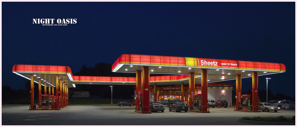 Night Oasis -- Sheetz Open 24 Hours, Gettysburg (PA) June … | Flickr
