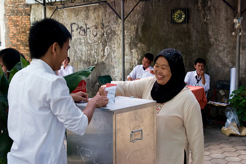 Election in Indonesia | by isafrancesca