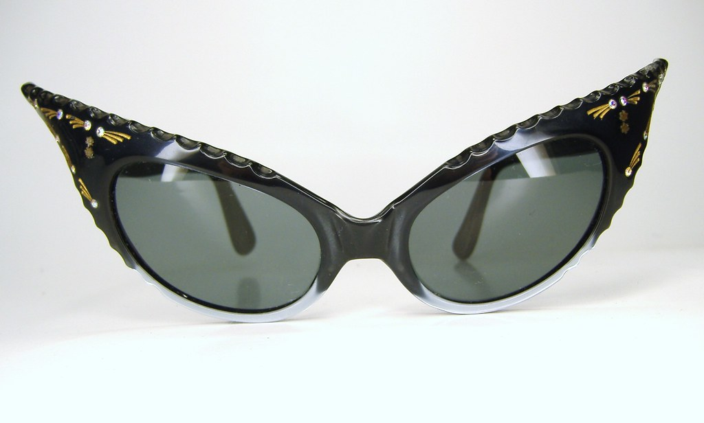 Vintage Wicked Extreme France Cay Eye Sunglasses | Teresa ...
