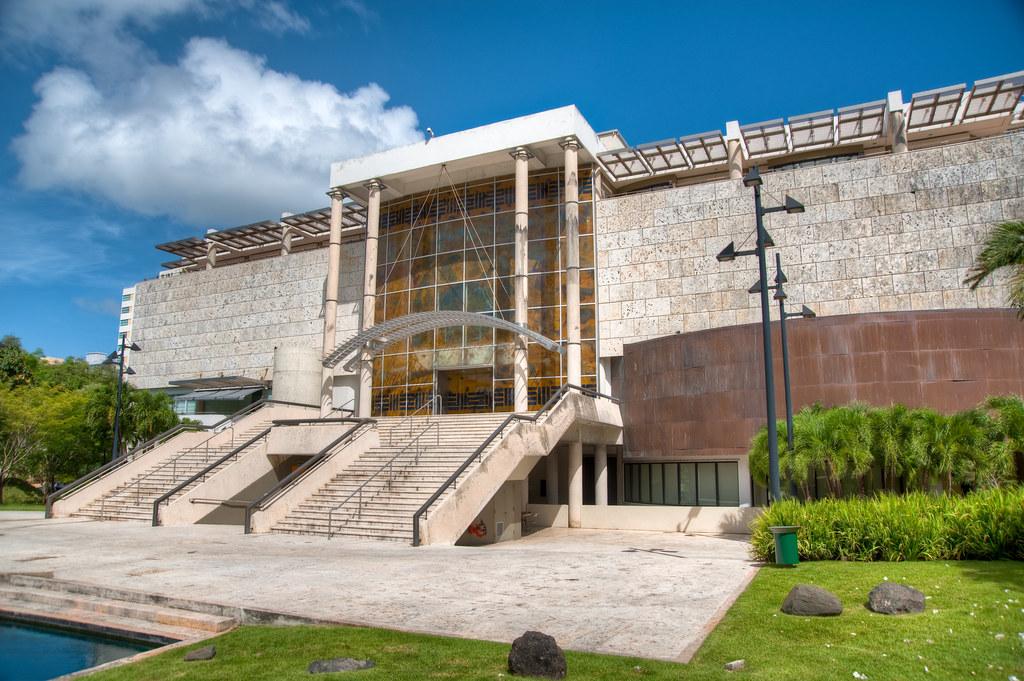Museo de arte de puerto rico sol naciente taino fachada for Jardin xanadu puerto rico
