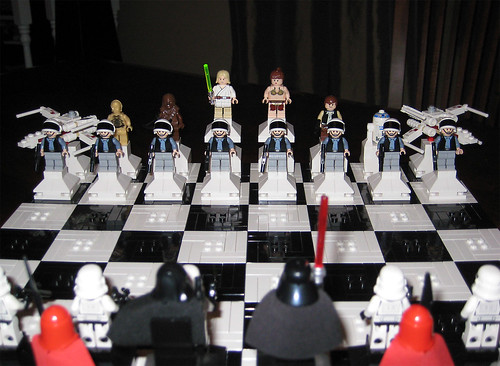 Lego Star Wars Chess - Light Side | by levork