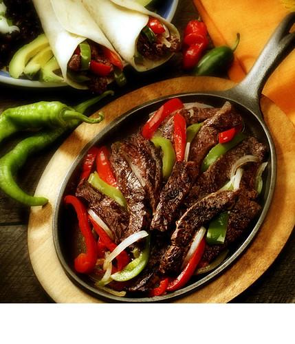 Steak Fajitas ( Mexican) | Flaming Food Dieter | Flickr