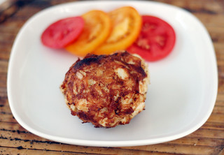 Making homemade crab cakes | by rachel is coconut&lime