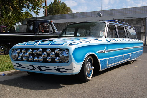 1960 ford falcon wagon billetproof 2009 at the contra
