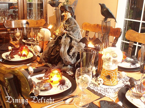 Halloween Table Setting dining delight1 Flickr : 4048321285d2107b0d97 from www.flickr.com size 500 x 375 jpeg 200kB