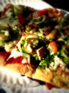 Shrimp and Pesto Pizza | by Jaime Ferreyros - iphoneographer