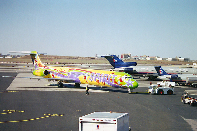 Spirit Airlines Livery Spirit Airlines Md-83 | by