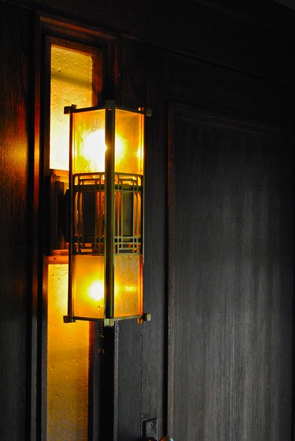 a frank lloyd wright light fixture at the darwin martin ho flickr photo sharing. Black Bedroom Furniture Sets. Home Design Ideas