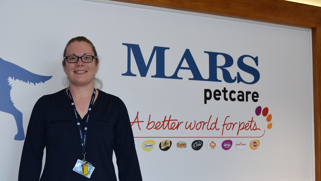 Alysia Hunt at MARS Petcare