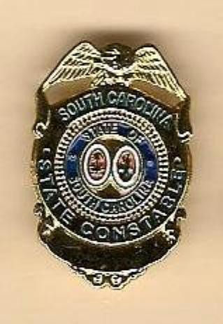 South Carolina State Constable Badge Pin Stephen Todd