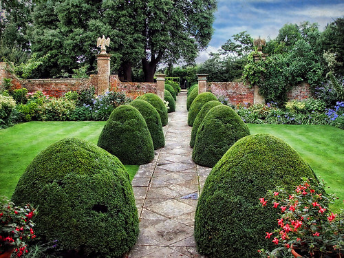 Tintinhull gardens somerset tintinhull garden located for Giardini inglesi