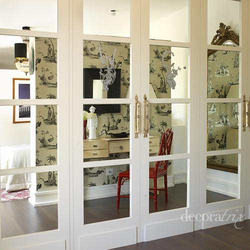 Armario con puertas de espejo foto decoratrix el toque for Armario puerta espejo
