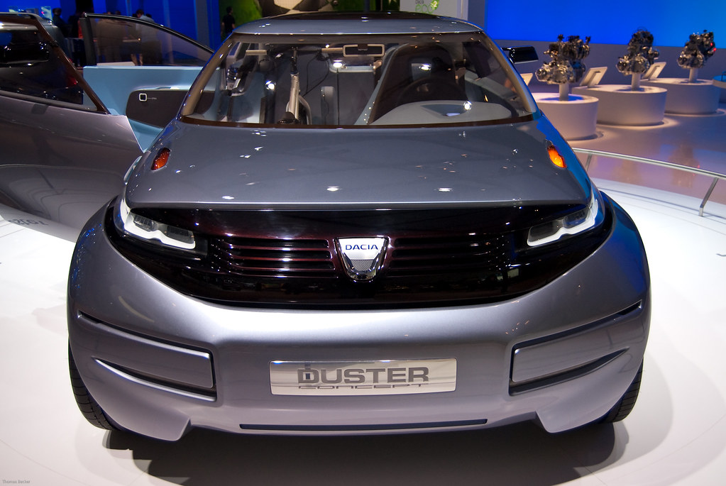 Dacia Duster Concept Car 34596 Dacia Duster Concept Car Flickr