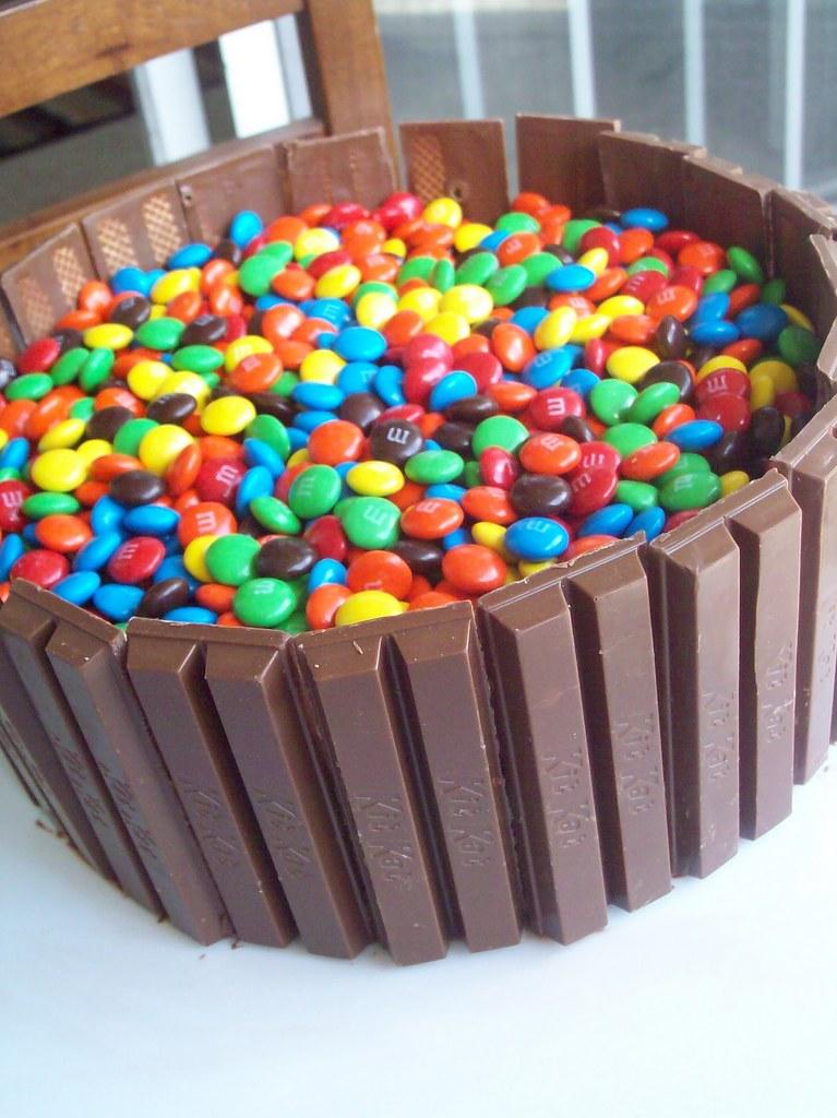 Kit Kat Mm Birthday Cake Lindseyskitchen85spot2 Flickr