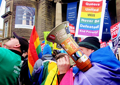 Queers United Will Never Be Defeated | by Viv Lynch