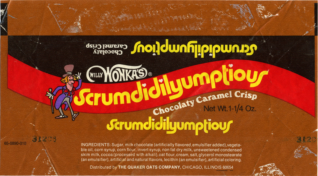 Wonka Bar Wrappers Wonka Bar Candy Bar Wrapper Template Willy