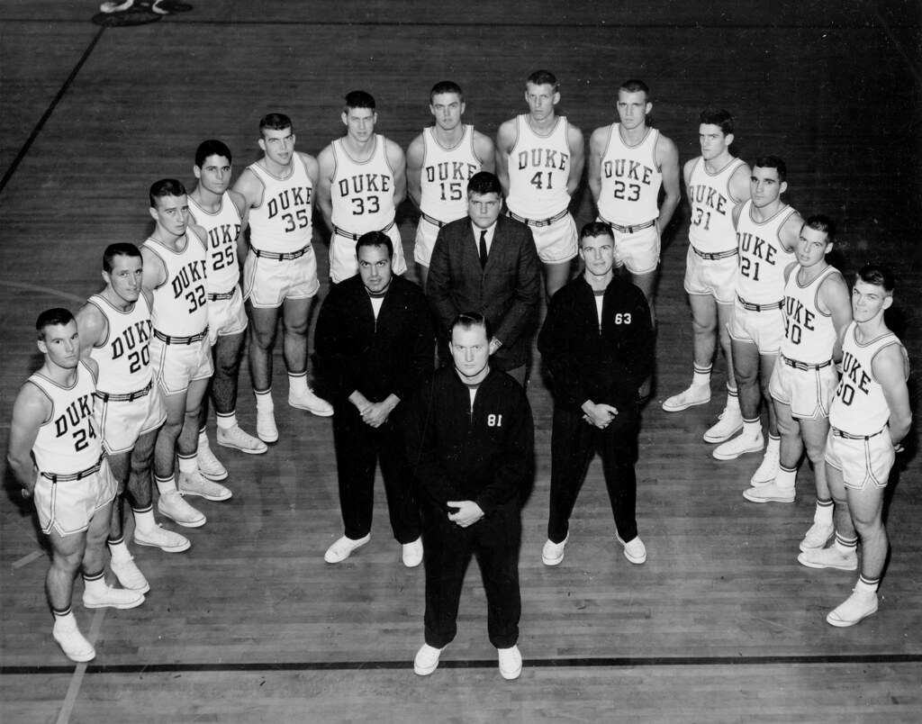 1959-1960 Duke Basketball Team | Repository: Duke ...