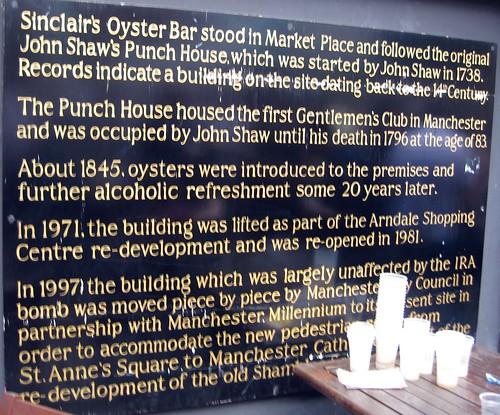 Sinclair S Oyster Bar Food Menu