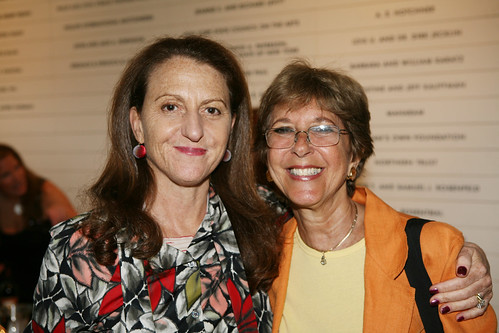 Museum Of Arts And Design Director : Mad director holly hotchner with member suzannedavis