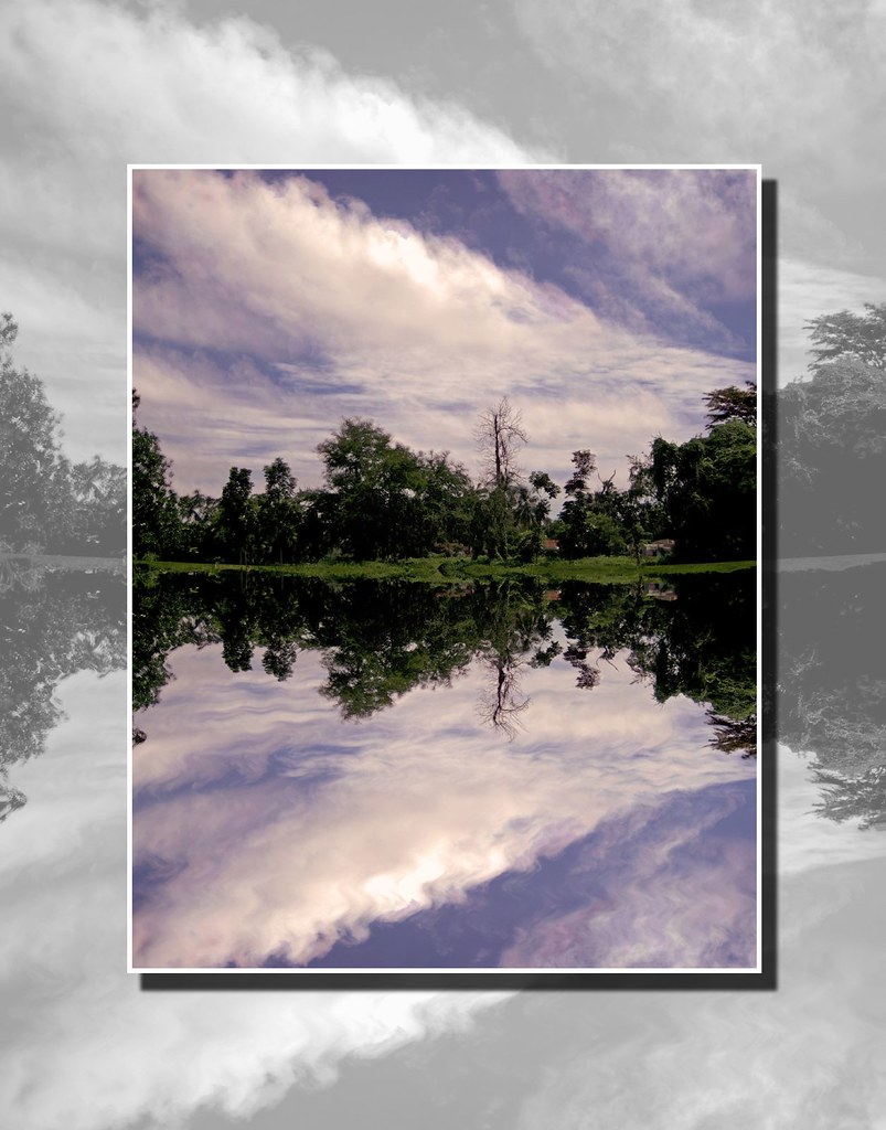 HOUSE ON WATER POSTER 24x36 ZEN TRANQUIL NATURE LAKE 1578