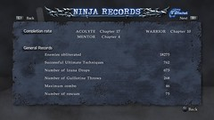 Ninja Gaiden Sigma 2 Records Screenshot 1 | by PlayStation.Blog