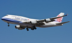 China Airlines Boeing 747-400 B-18211 | by Code20Photog