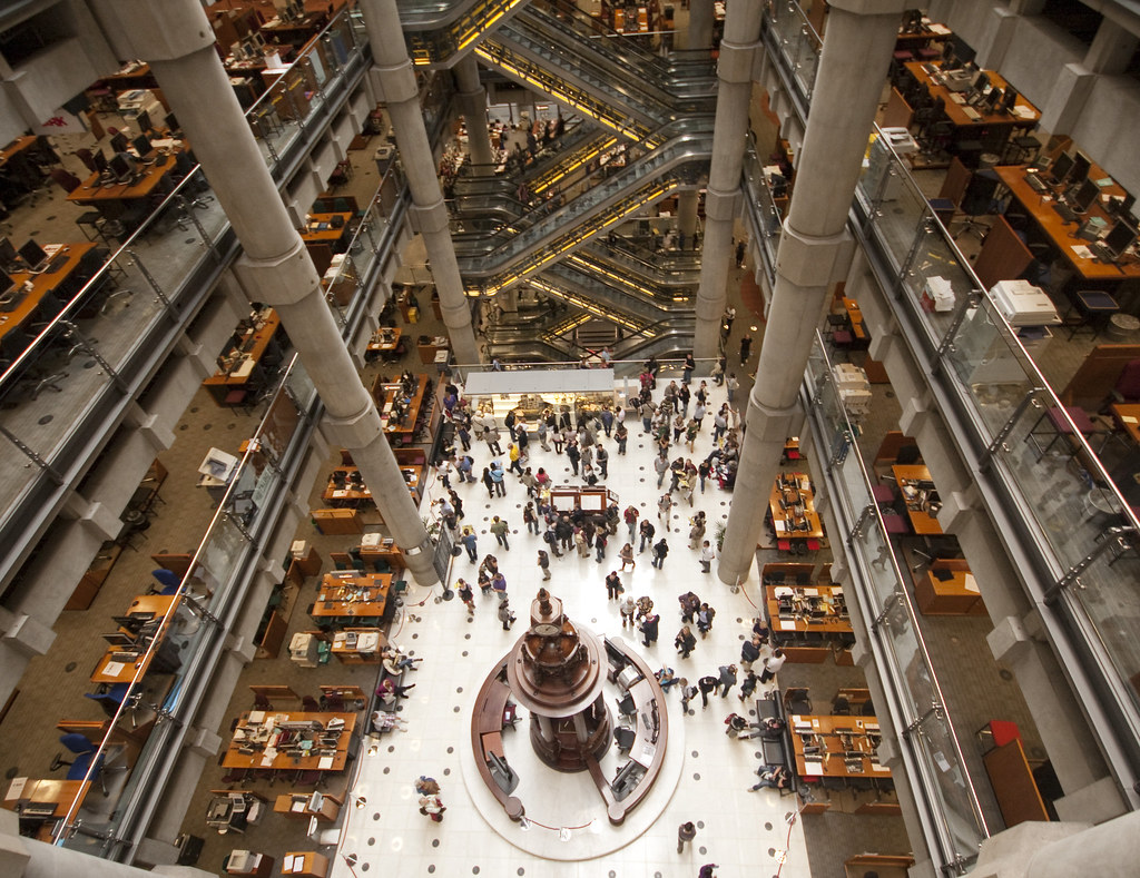Wide Eyed At Lloyds Of London A View Of The Trading