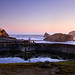 Sutro Baths and Cliff House Early Twilight